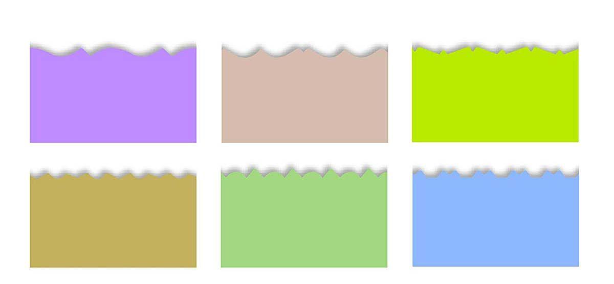 Pochette de 6 ciseaux cranteurs Kidzors