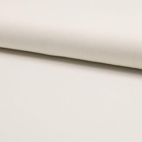 Tissu crêpe de viscose - Écru