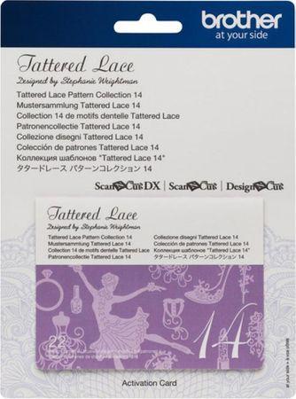 Collection n° 14 de motifs dentelle Tattered Lace ScanNCut