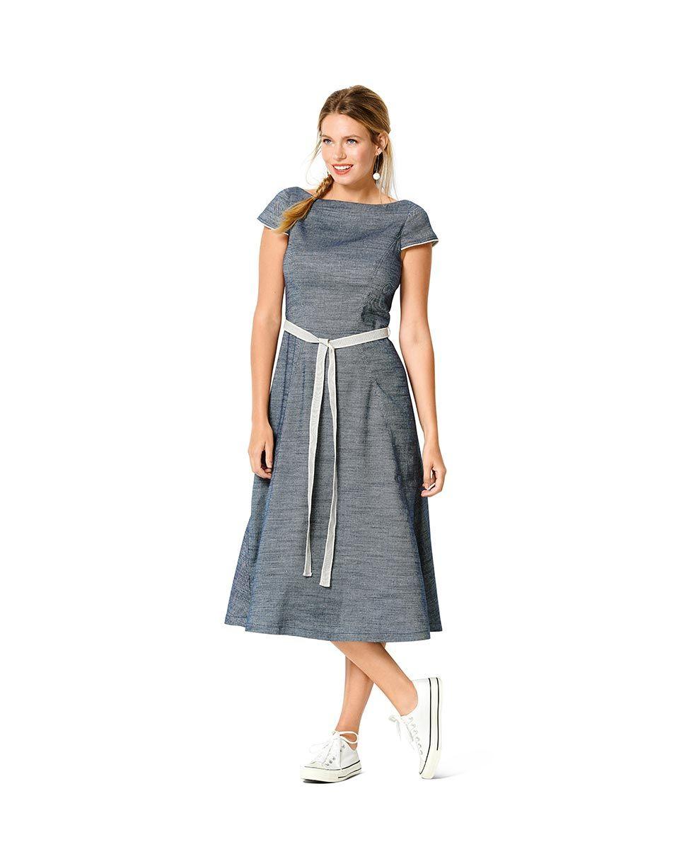 Patron de robe - Burda 6209