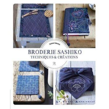 Livre broderie sashiko - technique & créations