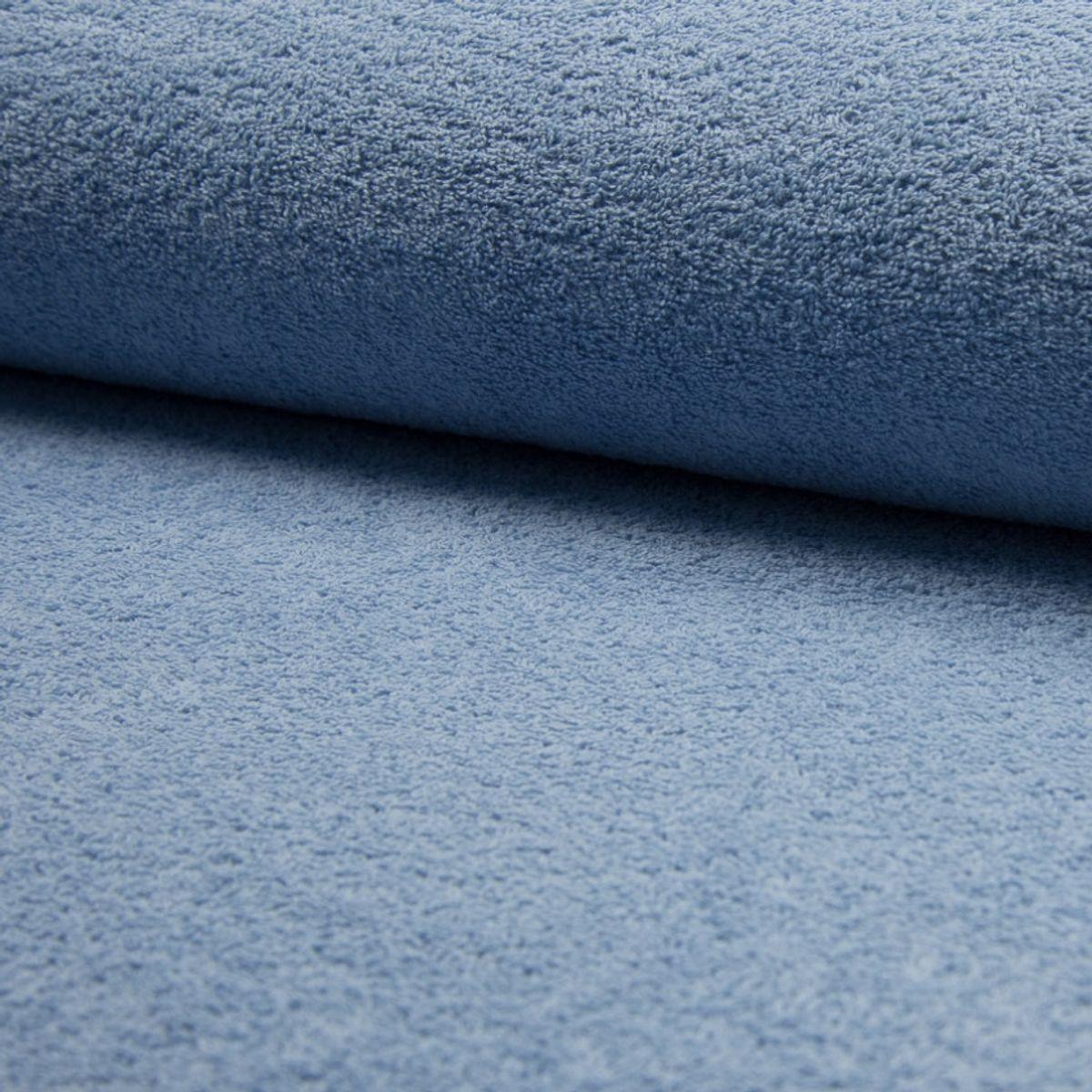 Tissu éponge - Bleu arctique