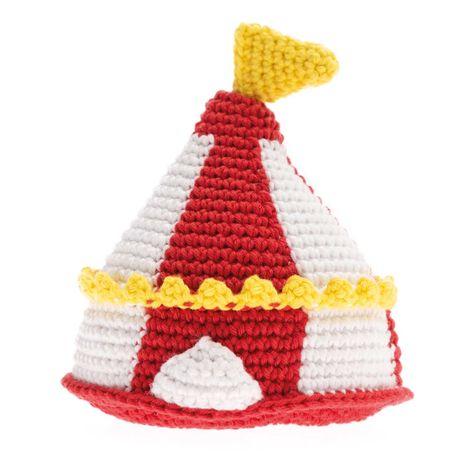 Kit crochet amigurumi - Chapiteau du cirque