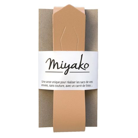 Anse en cuir Miyako - Sable
