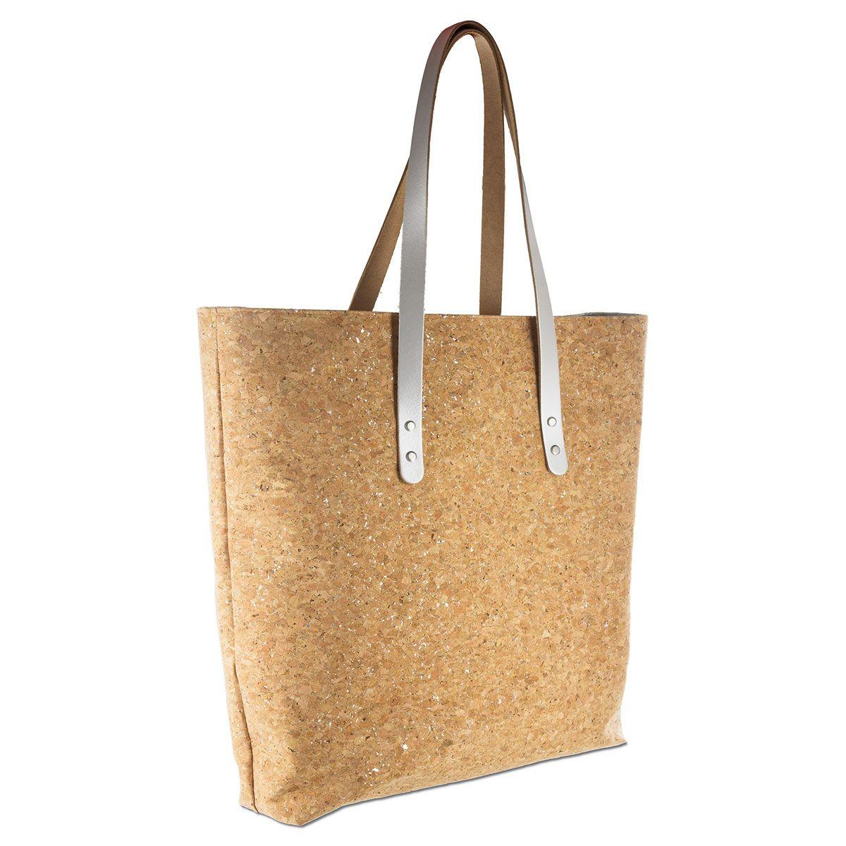 2 lanières tote-bag en cuir - 80 x 2 cm - Nude