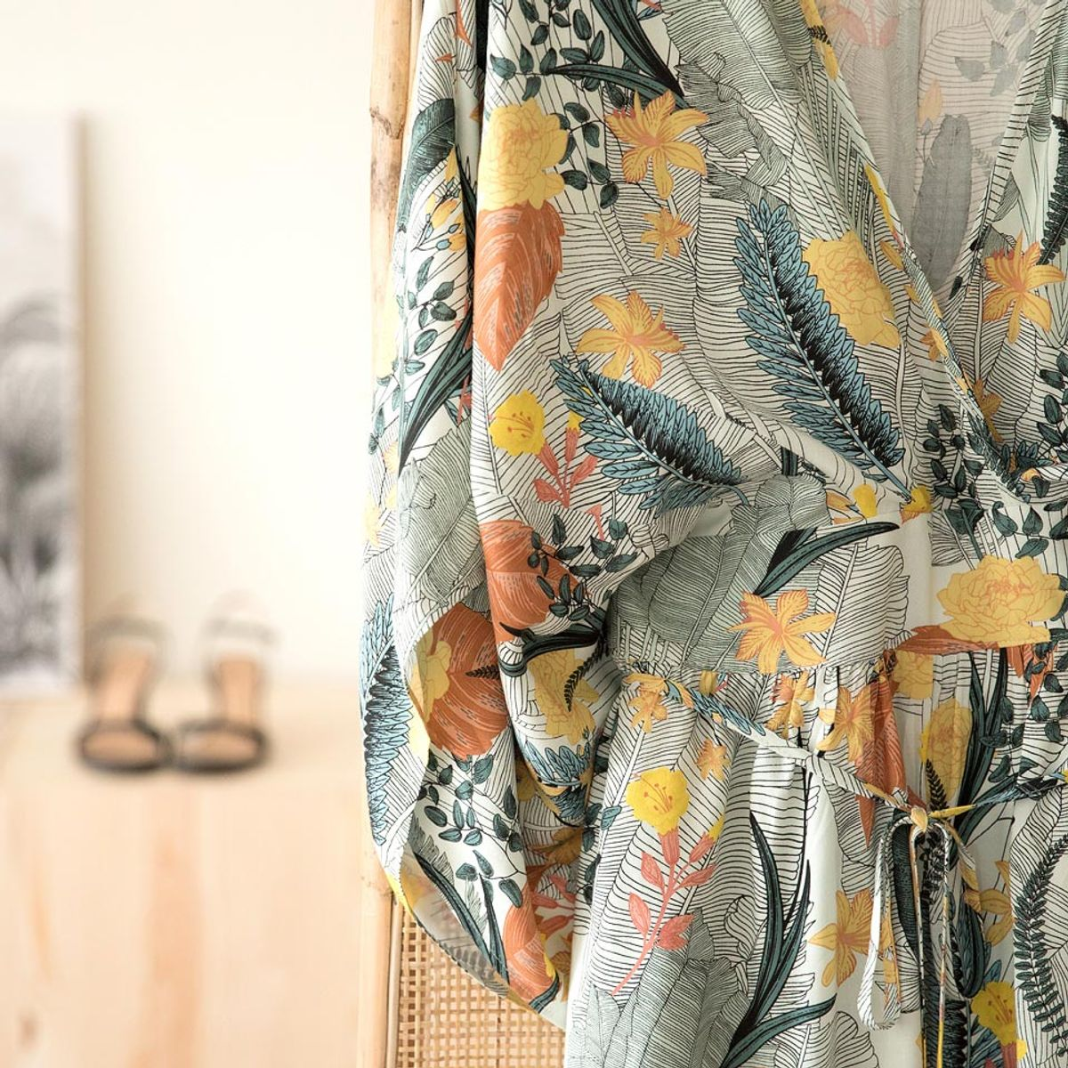 Tissu viscose Tropic Flowers - See You at Six