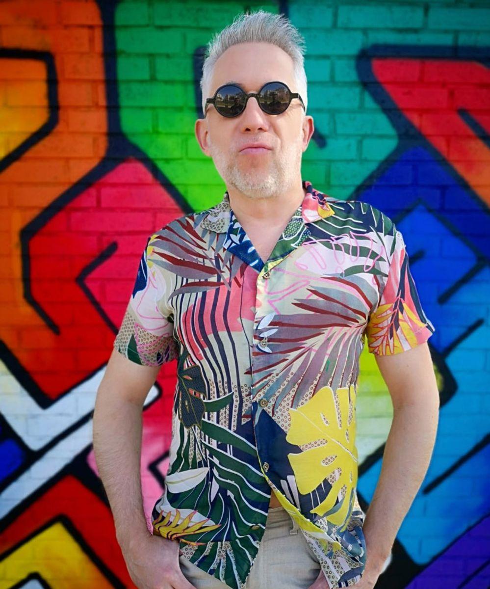 Patron de chemisette pour homme Le Surfeur - Les BG