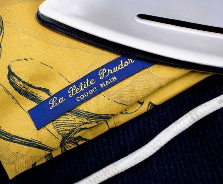Étiquettes tissées pour vêtements Nominette thermocollantes