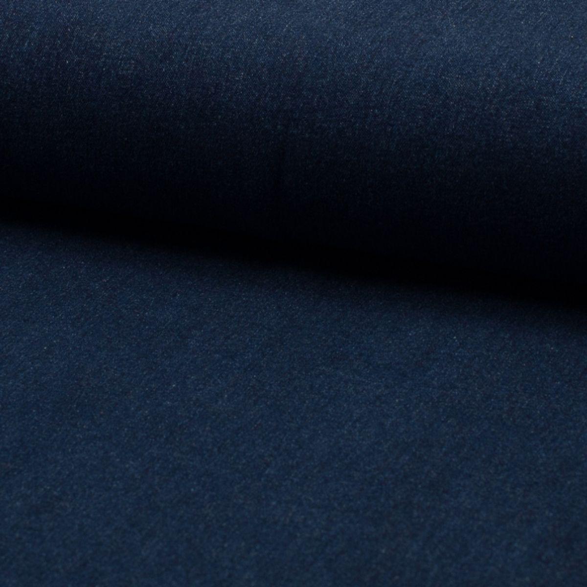 Tissu jeans stretch Denim - Bleu foncé