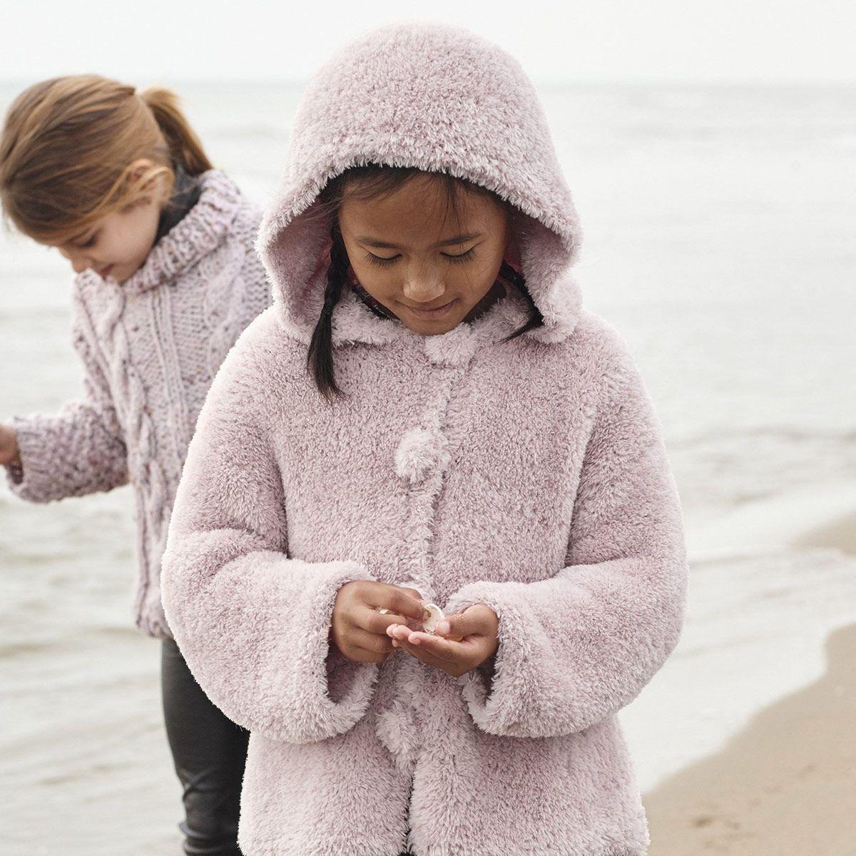 Modèle de manteau à capuche