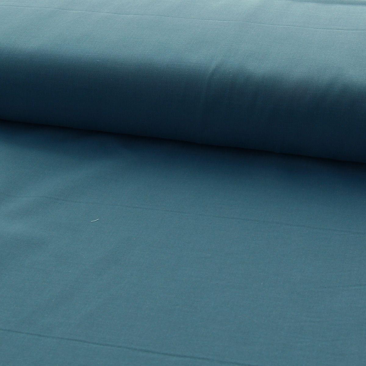 Tissu voile de coton - Canard