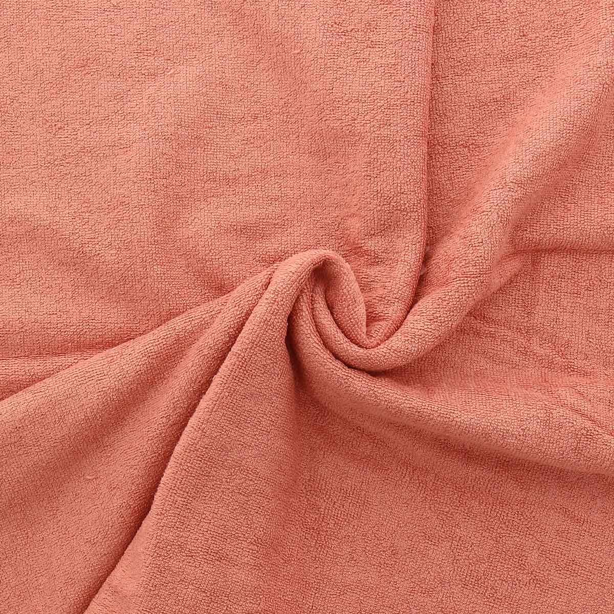 Tissu micro éponge de bambou - Marsala