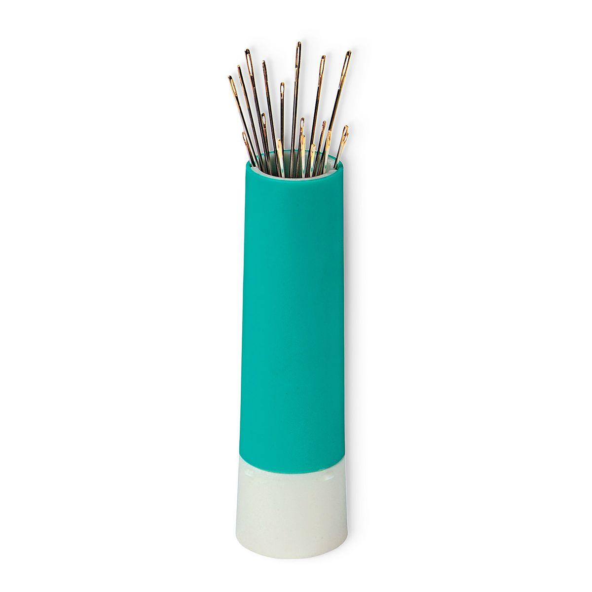 Distributeur tournant pour épingles et aiguilles - Vert menthe