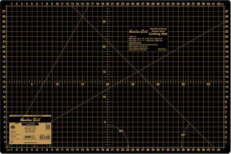 Tapis de découpe auto-cicatrisant noir 30 x 45 cm