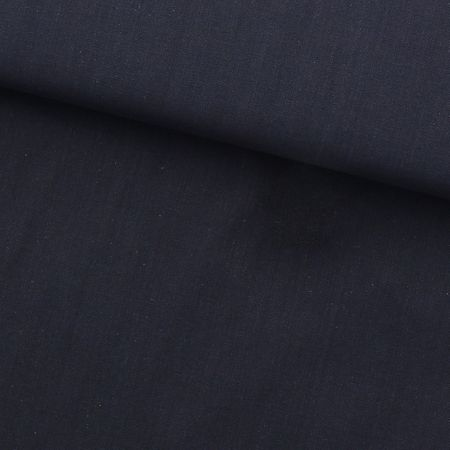 Tissu coton sashiko uni Olympus - Bleu marine