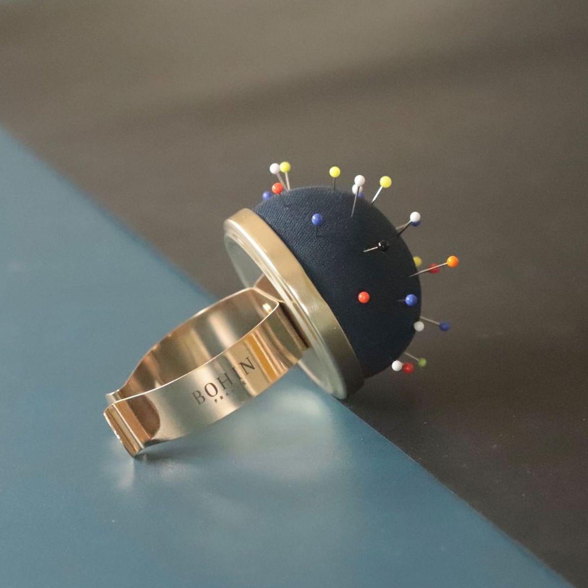 Bracelet porte épingles Bohin - Noir