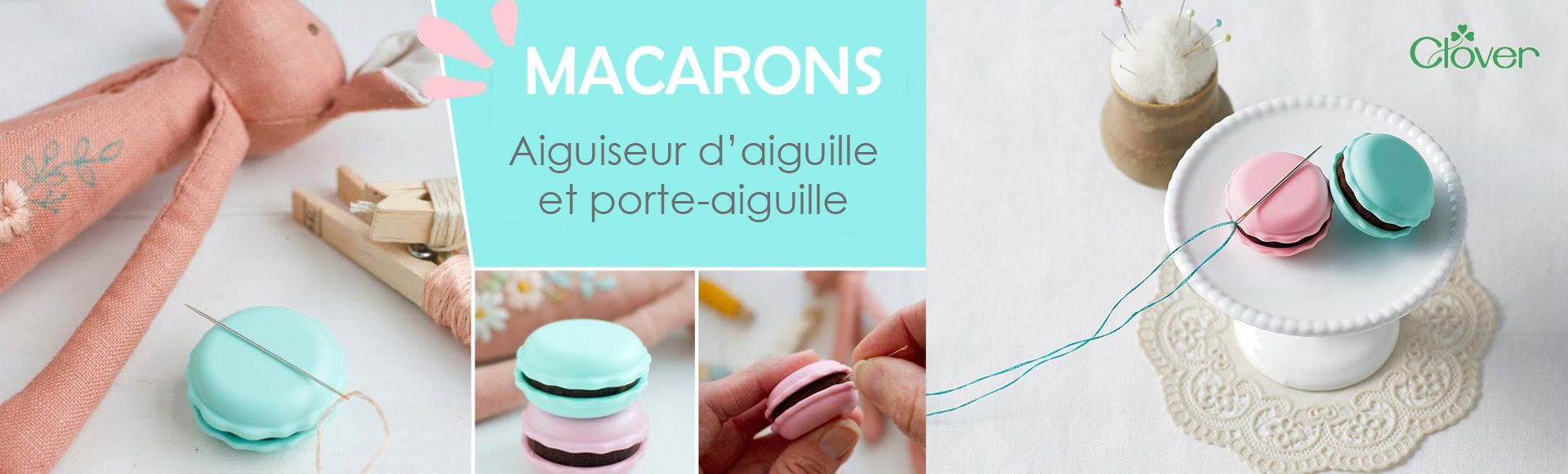 Macarons couture Clover