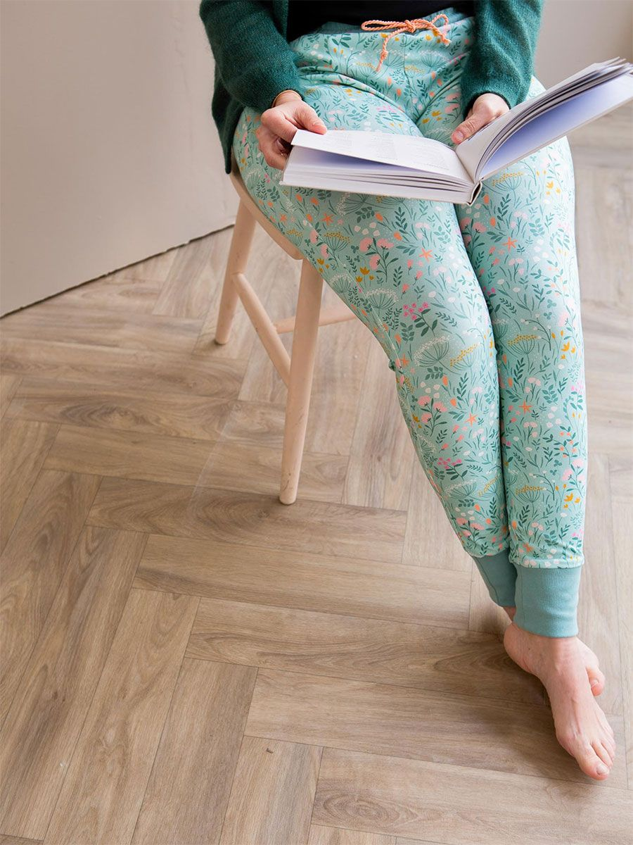 Tissu jersey de coton In the Bloom - Lise Tailor