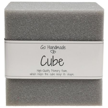 Cube de mousse pour jouets d´éveil 12,5 cm x 12,5 cm