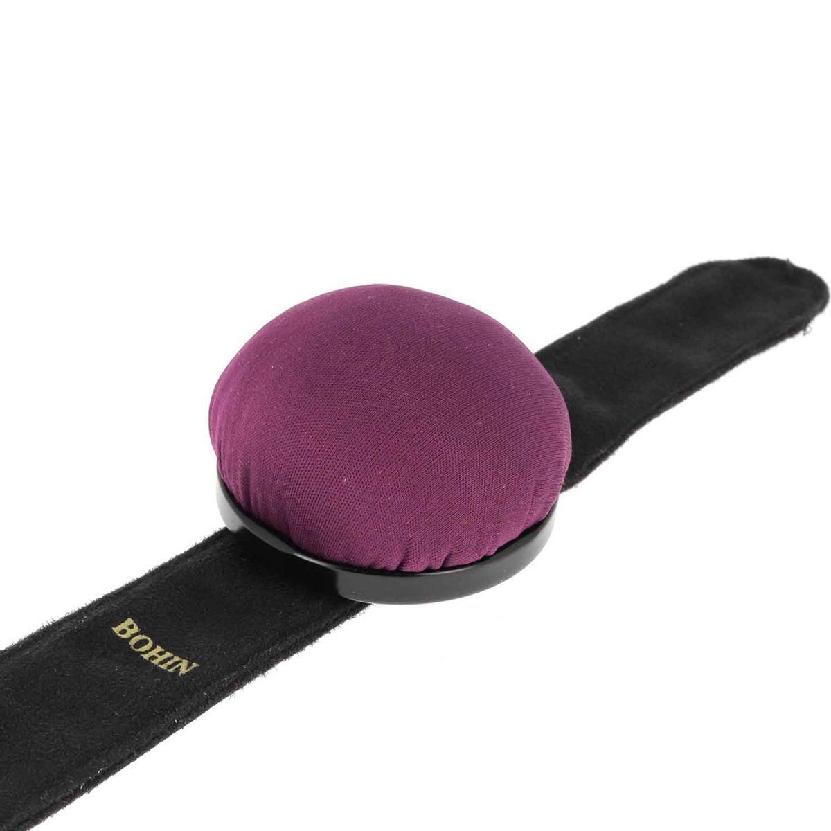 Bracelet ajustable Bohin pour épingles - Violet
