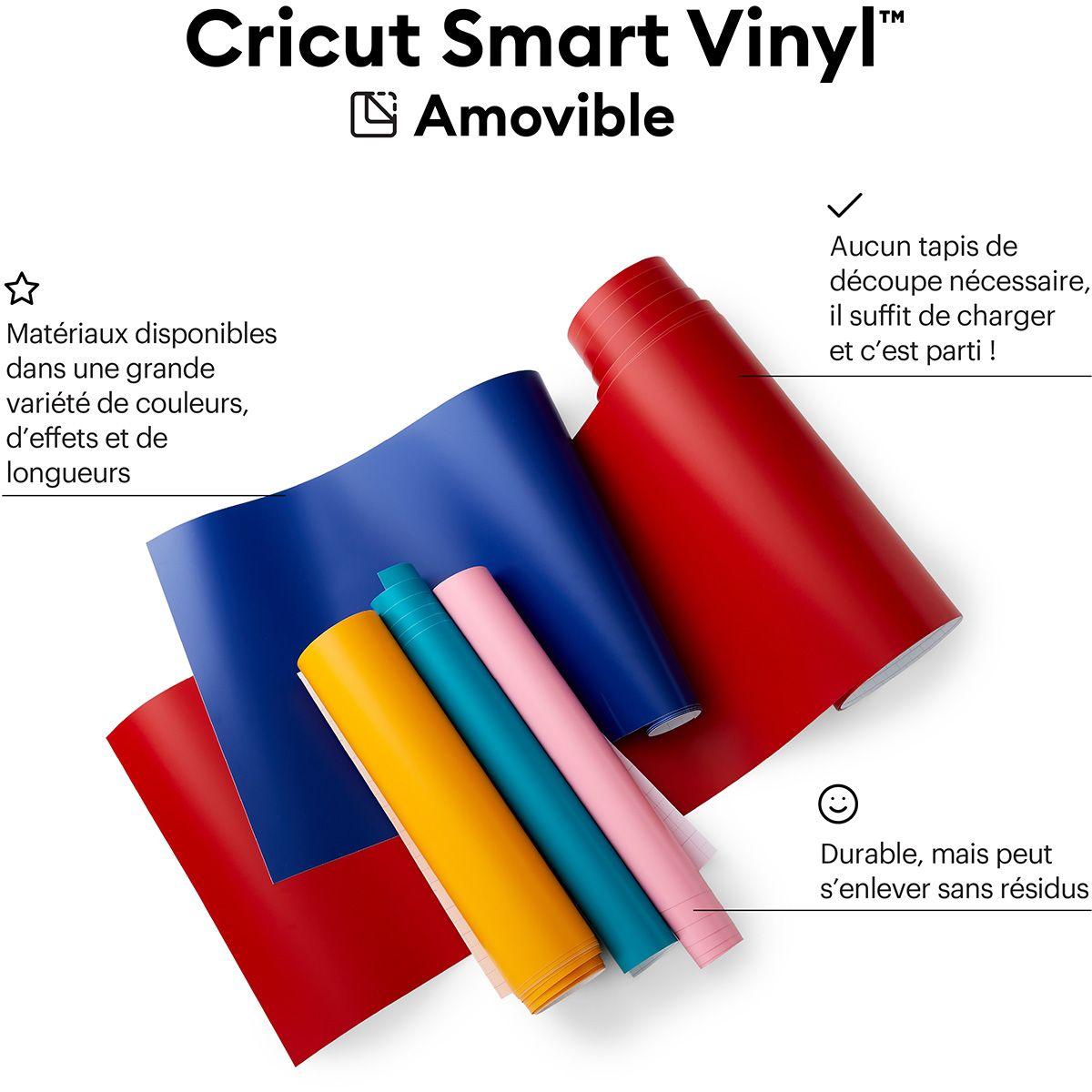 Film vinyle repositionnable 33 cm x 91 cm Cricut
