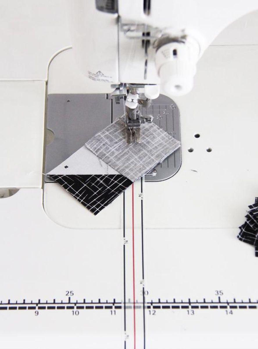 Ruban de guidage à la machine Diagonal Seam Tape