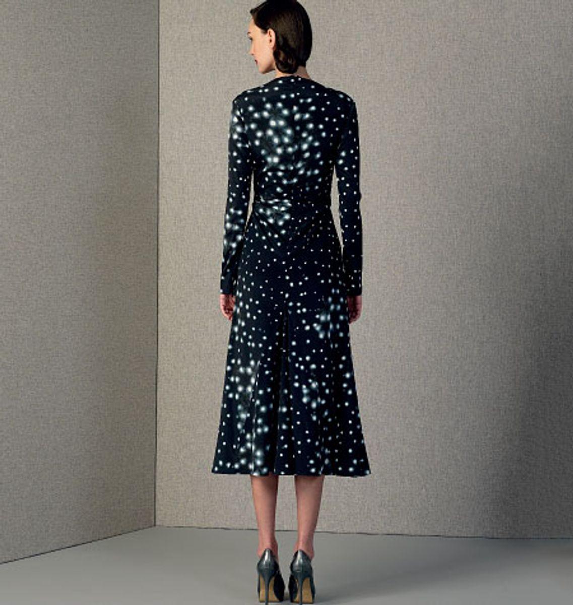 Patron de robe - Vogue 1406