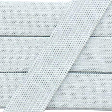 Élastique souple 15 mm - Blanc