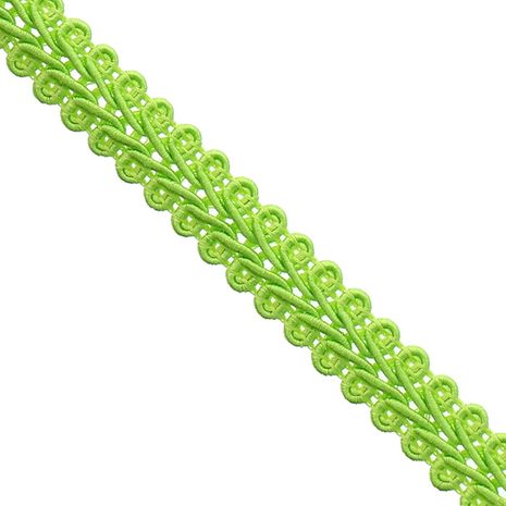 Galon épi style Chanel - Vert pomme