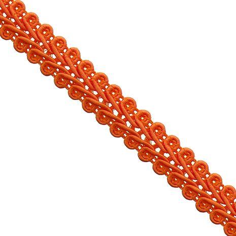 Galon épi style Chanel - Orange