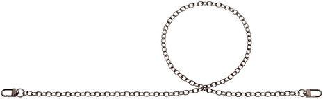 Chaine pour sac à main Simone 88 cm - Argent antique