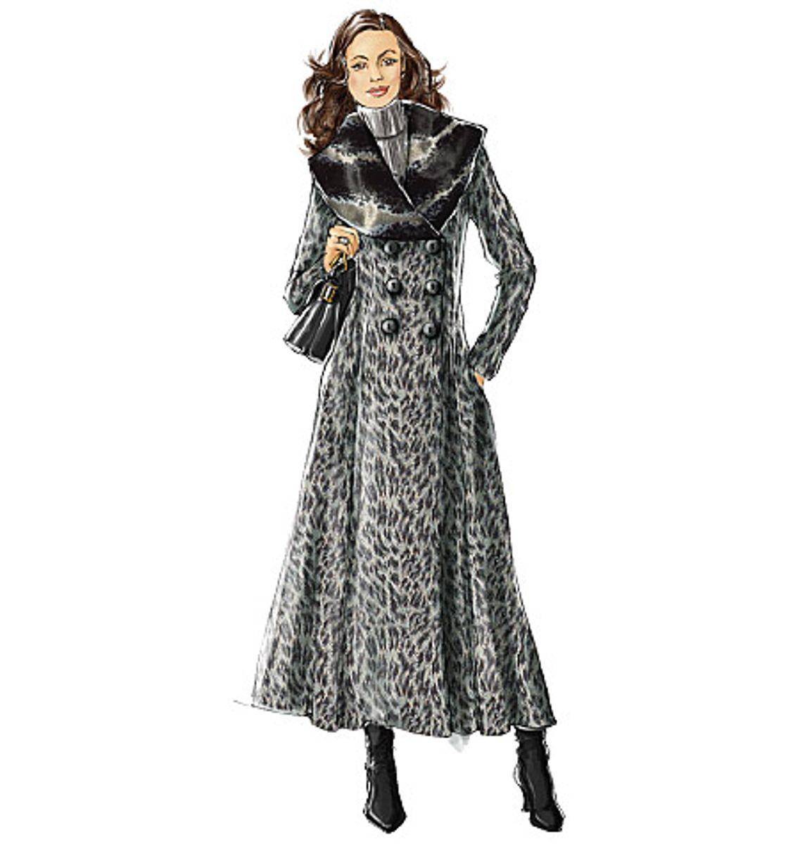 Patron de manteau - Vogue 8346
