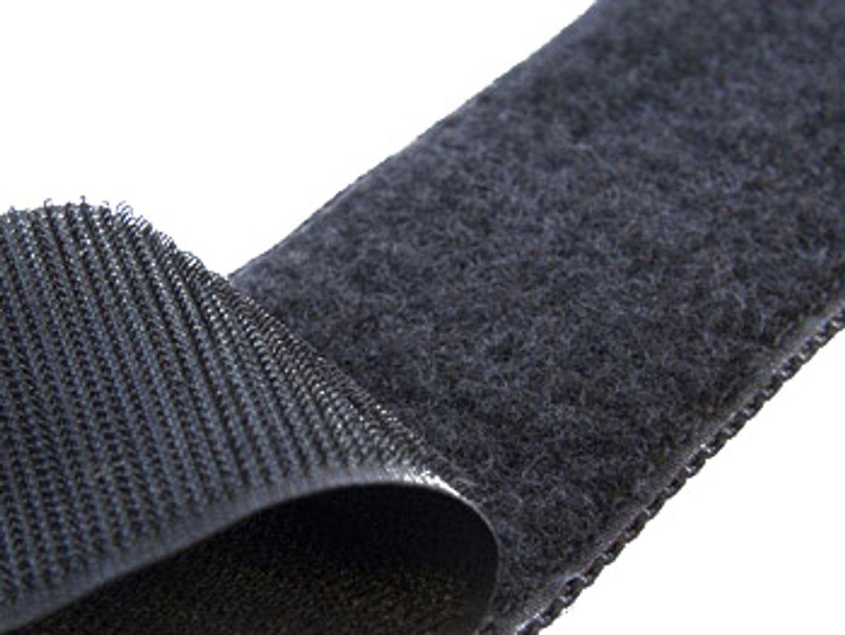 VELCRO® Brand à coudre noir 50 mm de large au mètre
