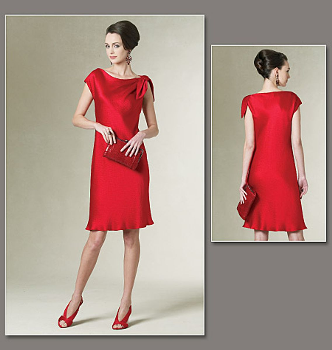 Patron de robe - Vogue 1208