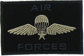 Motif air force noir