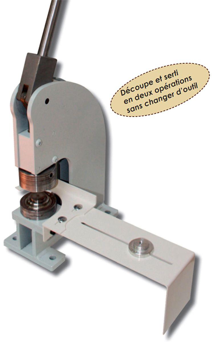 Presse à oeillets manuelle MP 12 - F