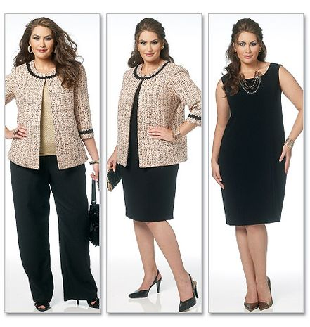 Patron de veste, robe, jupe, pantalon - Butterick 5719