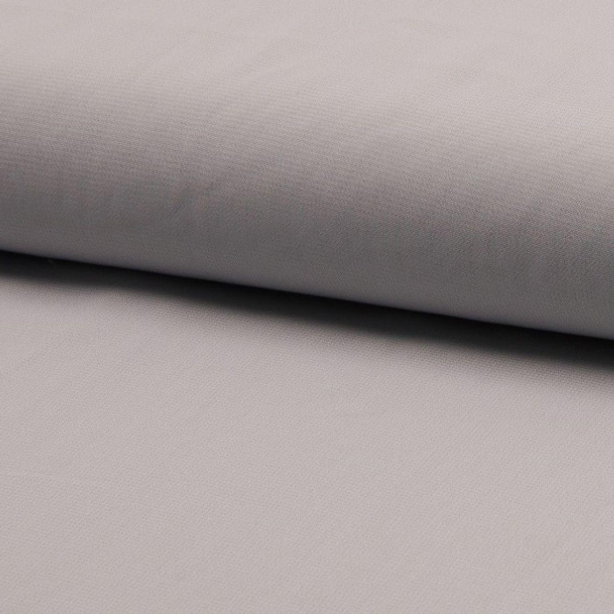 Tissu mousseline - Argent