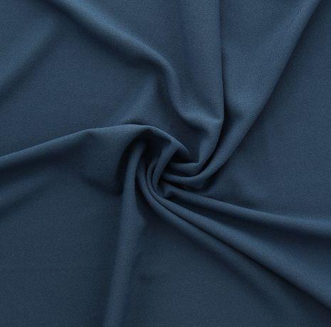 Tissu crêpe viscose - Bleu jeans