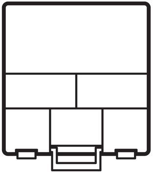 Tissus torchon nid d´abeille - Blanc