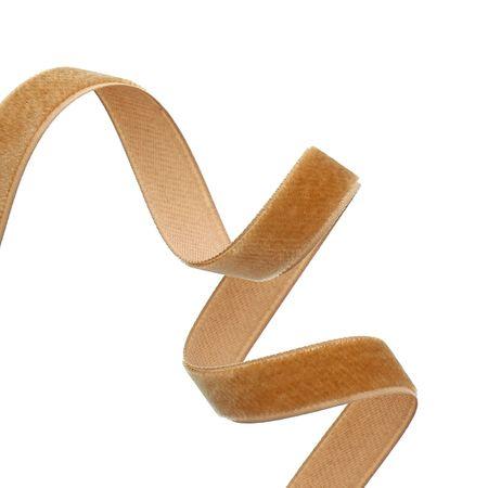Ruban velours - Caramel