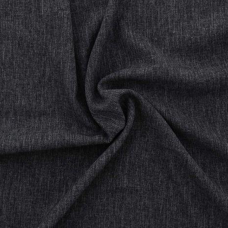 Tissu toile de tweed - Gris foncé