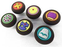 6 boutons de meuble thème couture