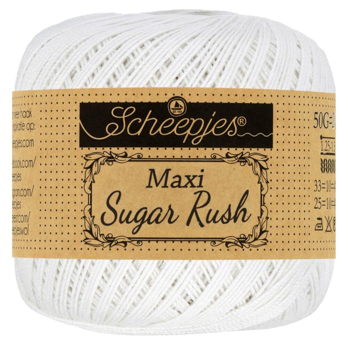 Coton Scheepjes Maxi Sugar Rush