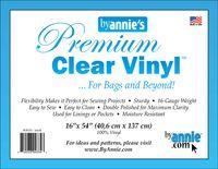 Vinyle transparent premium - 40,6 x 137 cm