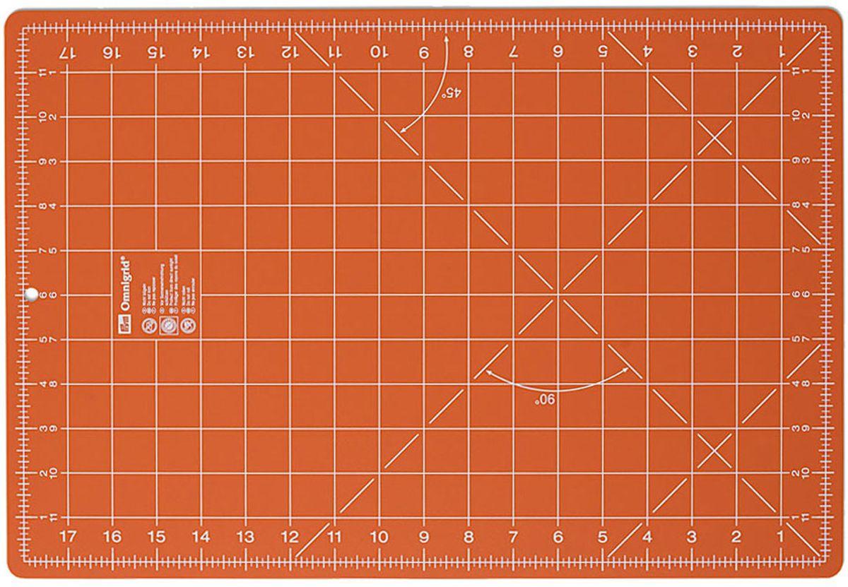 Fond de découpe Omnigrid orange 30 x 45 cm
