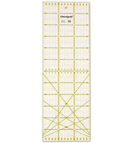 Règle patchwork Omnigrid angles 15 x 60 cm