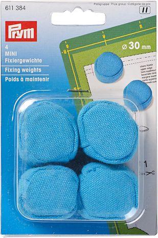 Poids à maintenir MINI 30 mm bleu