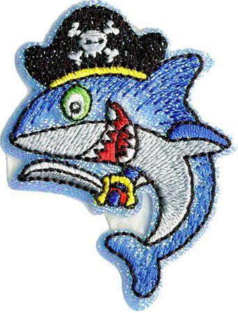 Motif animaux pirate - Requin