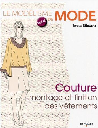 Livre le modélisme de mode - Volume 4